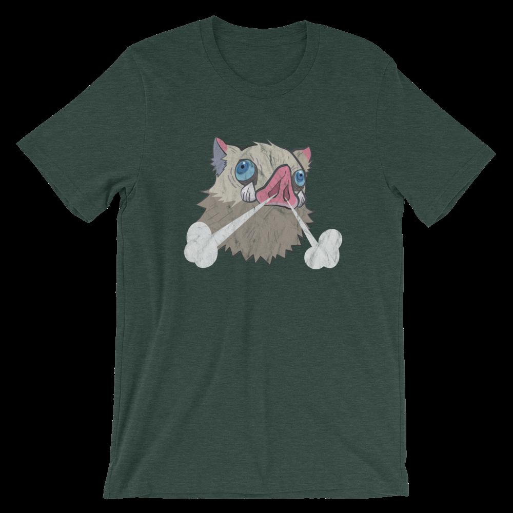 Kimetsu no Yaiba Inosuke Boar Head T-Shirt